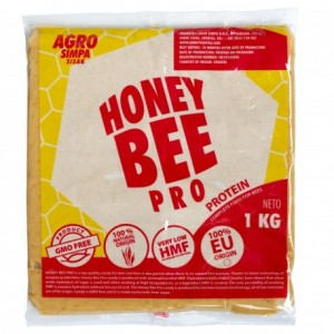 CIASTO HONEY BEE PRO PROTEIN 1 KG